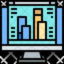 Rank Bar Graph Analysis Icon