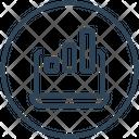 Network Big Data Transaction Icon