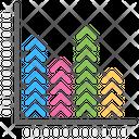 Bar Graph Column Graph Modern Infographics Icon