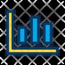 Bar Graph Analysis Analytics Icon