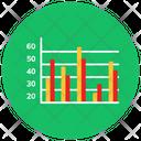 Bar Graph Statistics Infographic Icon