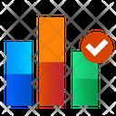 Bar Graph Bar Chart Statistics Icon