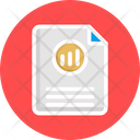 Bar Graph Analytics Financial Report Growth Analysis Icon
