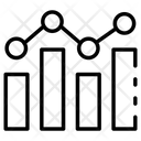 Bar Line Graph Icon
