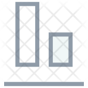 Bar Lines Parallel Icon
