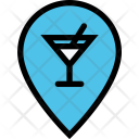 Bar Location Party Icon