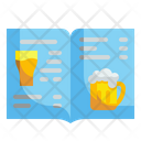 Bar Menu Pub Menu Beer Menu Icon
