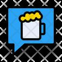 Bar Message Icon