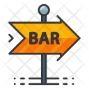 Bar Sign Gambling Icon