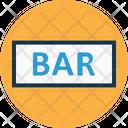 Bar Signboard Icon