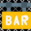 Bar Sign Signboard Icon