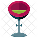 Bar Stool Chair Icon