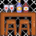 Bar Room Bar Table Bar Icon