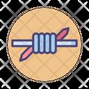 Barb Wire Icon