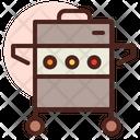 Barbacue Machine Grill Grilling Machine Icon
