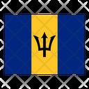 Barbados Flag Flags Icon