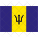 Flag Country Barbados Icon