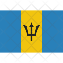 Barbados National Country Icon