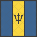 Barbados Country Flag Icon