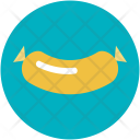 Barbecue Sausage Bratwurst Icon