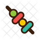 Barbecue Grill Meat Icon