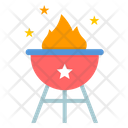 Fourth July Holiday Icon
