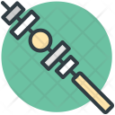 Barbecue Skewer Food Icon