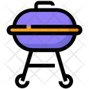 Spring Barbecue Barbeque Icon