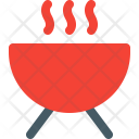 Barbecue Grill Food Icon