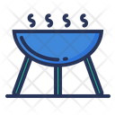Barbecue Food Cooking Icon
