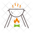 Barbecue Cooking Grill Icon