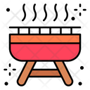Barbecue Grill Holidays Icon