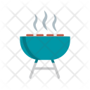 Barbecue Party Grill Icon