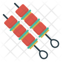 Barbeque Skewer Food Icon