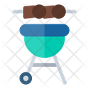 Grill Food And Restaurant Tools And Utensils Icon