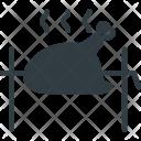 Barbecue chicken Icon