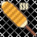 Barbecue Corn Icon