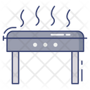Barbecue Grill Eating Cooking Equipment Icon