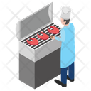Barbeque Fresh Barbeque Grill Food Icon