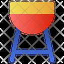 Barbecue Pot Icon