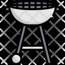 Barbecue Grill Kitchen Icon