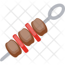 Barbecue Skewer Icon