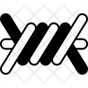 Barbed Wire Barb Wire Security Icon