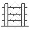 Barbed Wire Wall Icon