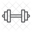 Barbell Dumbell Fit Icon
