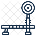Barbell Bench Equipment Icon