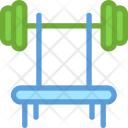 Barbell Dumbbell Fitness Icon