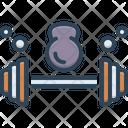 Barbell Bodybuilding Heavy Icon