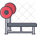 Barbell Bench Press Icon
