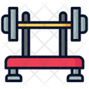 Barbell Exercise Gym Icon